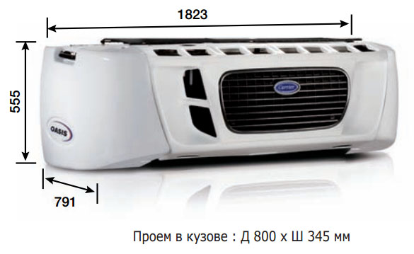 Carrier Oasis 150